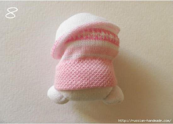 Шьем игрушки из носков. Прикольные ЗАЙЦЫ (9) (550x396, 87Kb)