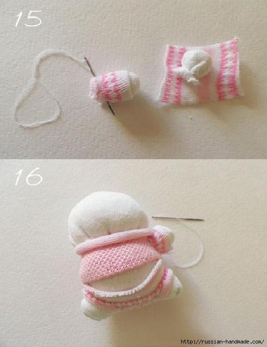 Шьем игрушки из носков. Прикольные ЗАЙЦЫ (17) (538x700, 201Kb)