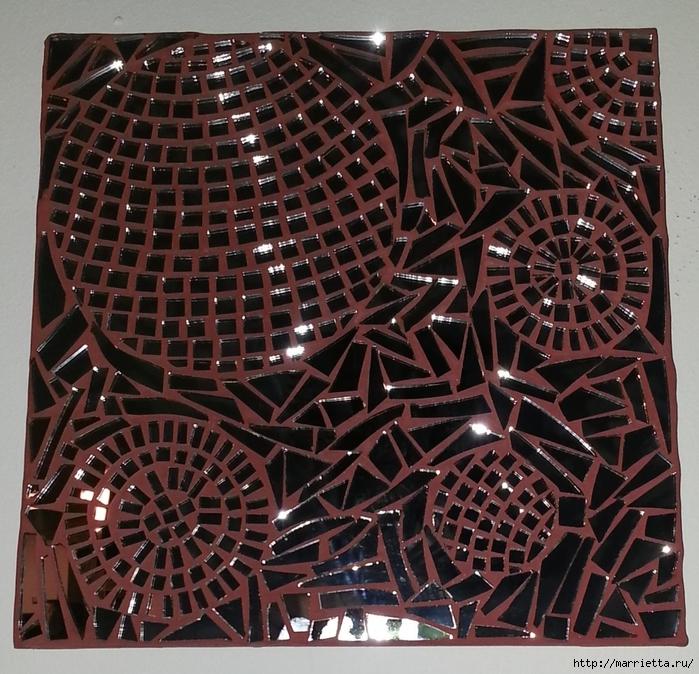 Зеркальная мозаика. Роскошные идеи для вдохновения (24) (700x674, 415Kb)