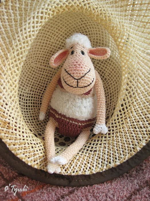 вязаная овечка своими руками kartino4ki.ga