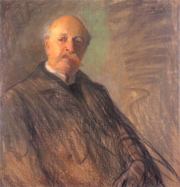 Juliusz_Kossak_by_Leon_Wyczółkowski_(1900) (578x600, 243Kb)