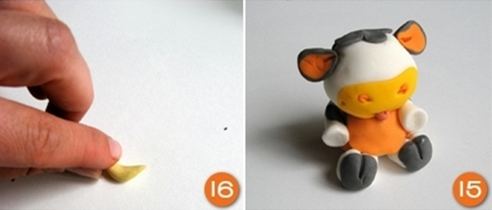 Burenka masilla de la torta de azúcar para el bebé (8) (700x298, 222Kb)