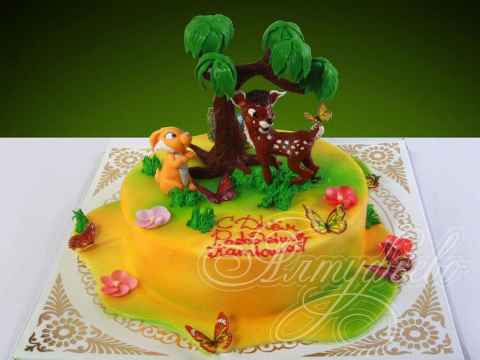 деткий торт с фигурками из мастики (7) (700x525, 362Kb)