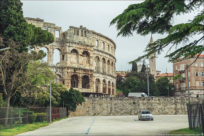 амфитеатр в пуле хорватия фото 15 (670x447, 364Kb)