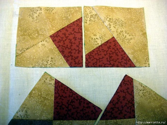 Урок лоскутного шитья. Блок ВЕРТУШКА (16) (690x517, 244Kb)