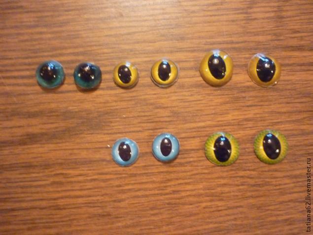 Глаза мягкой игрушки своими руками