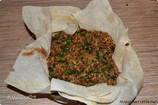 Рецепт мясного пирога из лаваша (5) (520x347, 123Kb)