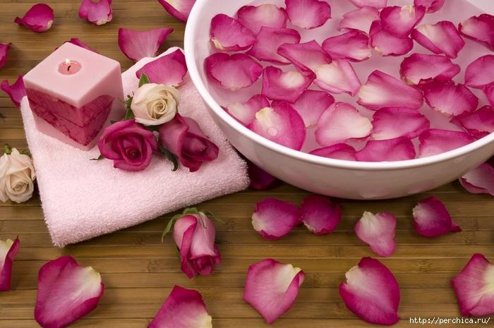Из лепестков роз своими руками фото