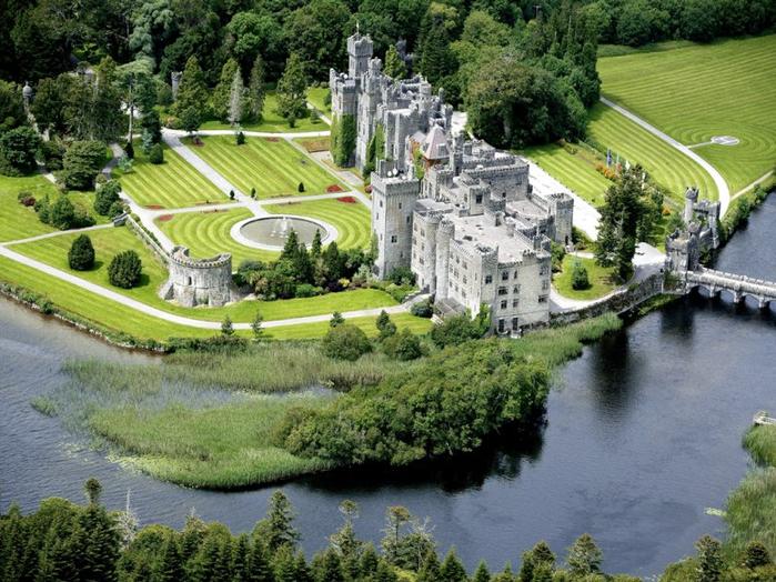 14. Ирландия. замок Эшфорд (700x524, 471Kb)