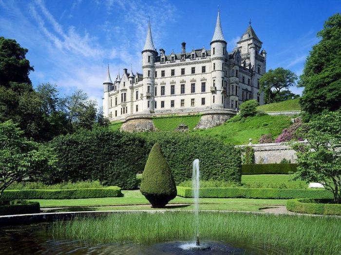 17. Шотландия Эдинбургский замок-крепость (700x525, 492Kb)
