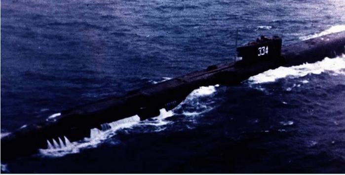 разгерметизация подводной лодки