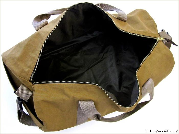 Шить сумку мастер класс идеи #10