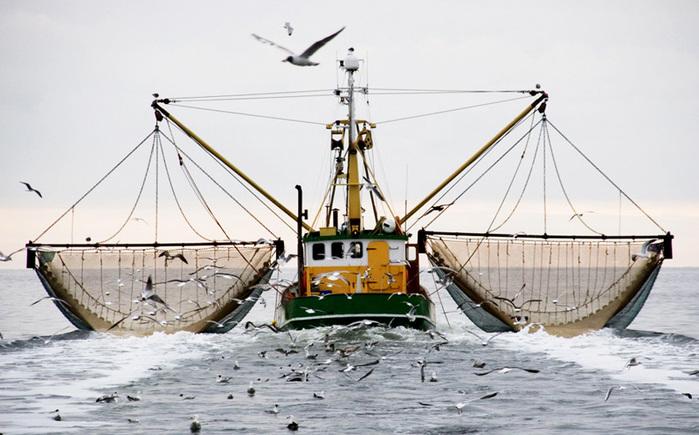 небольшое судно для рыбной ловли