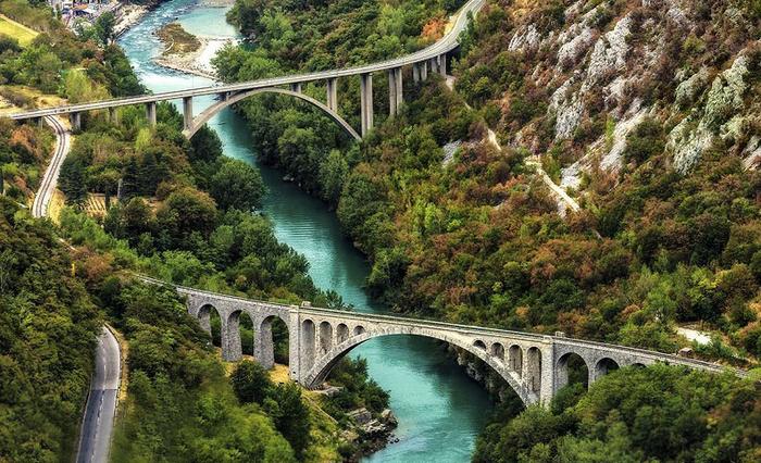 река соча славения фото 14 (700x426, 471Kb)