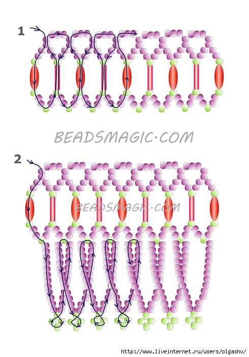 free-beading-neckace-tutorial-2 (490x700, 213Kb)