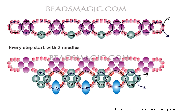 free-pattern-beaded-necklace-tutorial-2 (700x443, 176Kb)