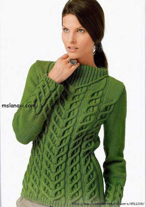 женские-пуловеры-3 (495x700, 246Kb)