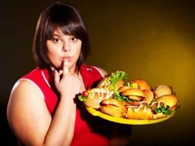 женщина и еда (384x288, 34Kb)