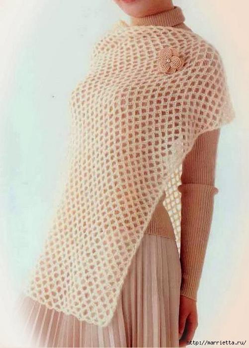 Вязание платьев со схемами и описанием 40