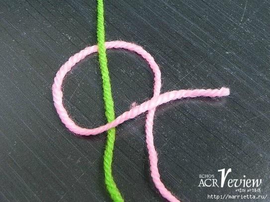 Способ соединения нитей при вязании крючком и спицами (2) (543x406, 195Kb)