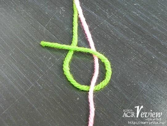 Способ соединения нитей при вязании крючком и спицами (6) (542x408, 209Kb)
