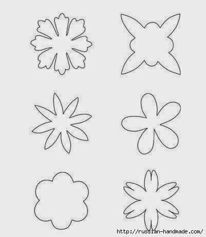 цветы из фетра (11) (401x462, 52Kb)