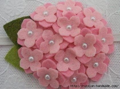 цветы из фетра (17) (420x312, 72Kb)