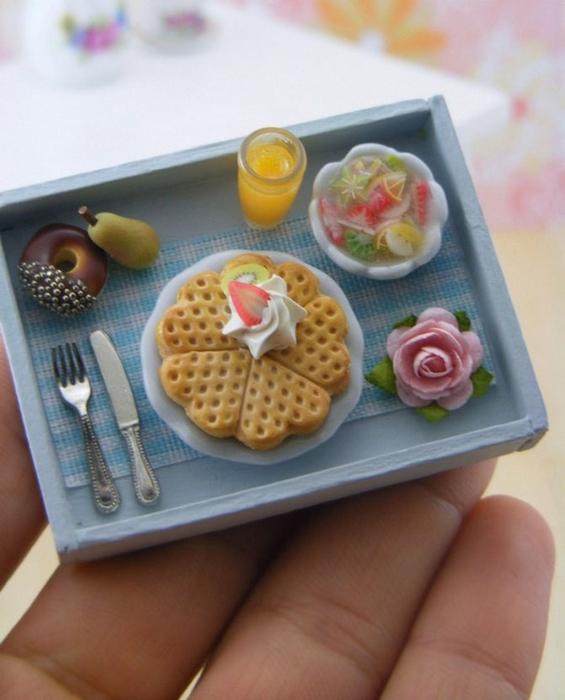 миниатюрная еда из полимерной глины Шай Аарон 1 (565x700, 322Kb)