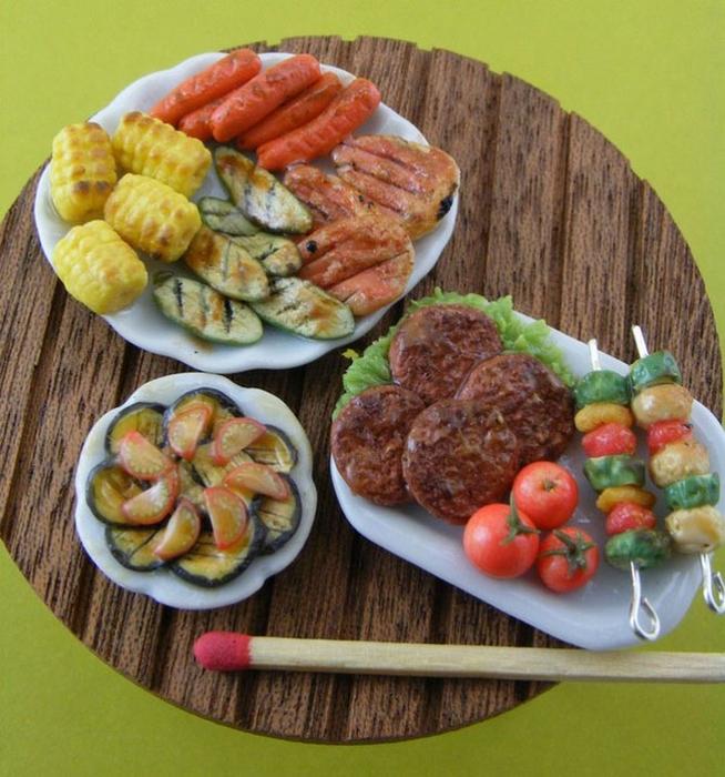 миниатюрная еда из полимерной глины Шай Аарон 10 (654x700, 498Kb)