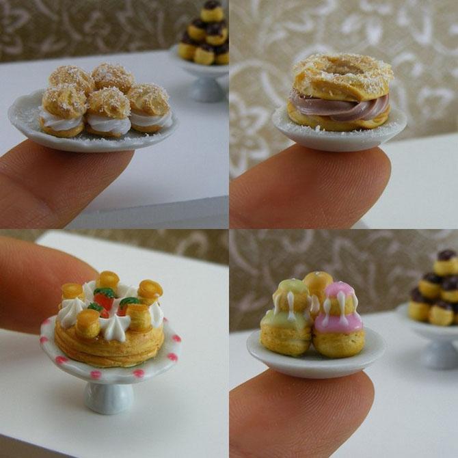 миниатюрная еда из полимерной глины Шай Аарон 14 (670x670, 235Kb)