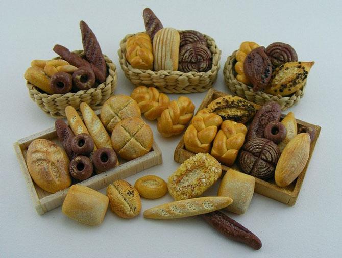 миниатюрная еда из полимерной глины Шай Аарон 17 (670x506, 245Kb)