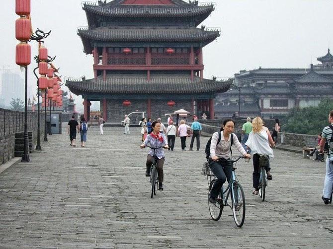 китайская стена город Сиань 9 (670x502, 263Kb)