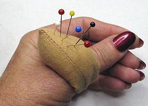 Подушечка на палец
