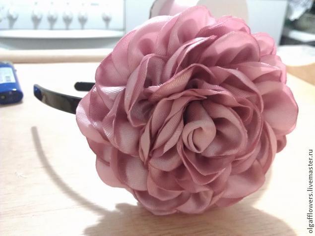роза в технике канзаши (1) (635x476, 107Kb)