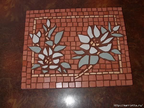 Мозаика на подносах. Мастер-класс и замечательные идеи (12) (600x450, 169Kb)