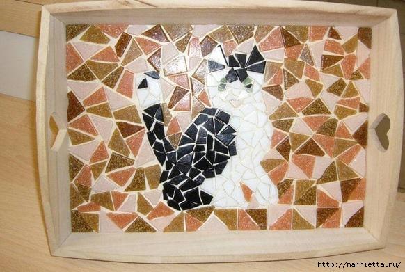 Мозаика на подносах. Мастер-класс и замечательные идеи (36) (582x391, 191Kb)