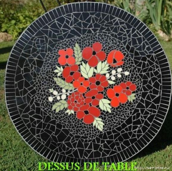 Мозаика на подносах. Мастер-класс и замечательные идеи (46) (578x576, 286Kb)