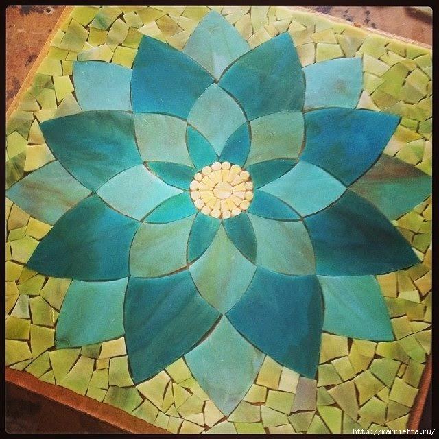 Мозаика на подносах. Мастер-класс и замечательные идеи (50) (640x640, 250Kb)