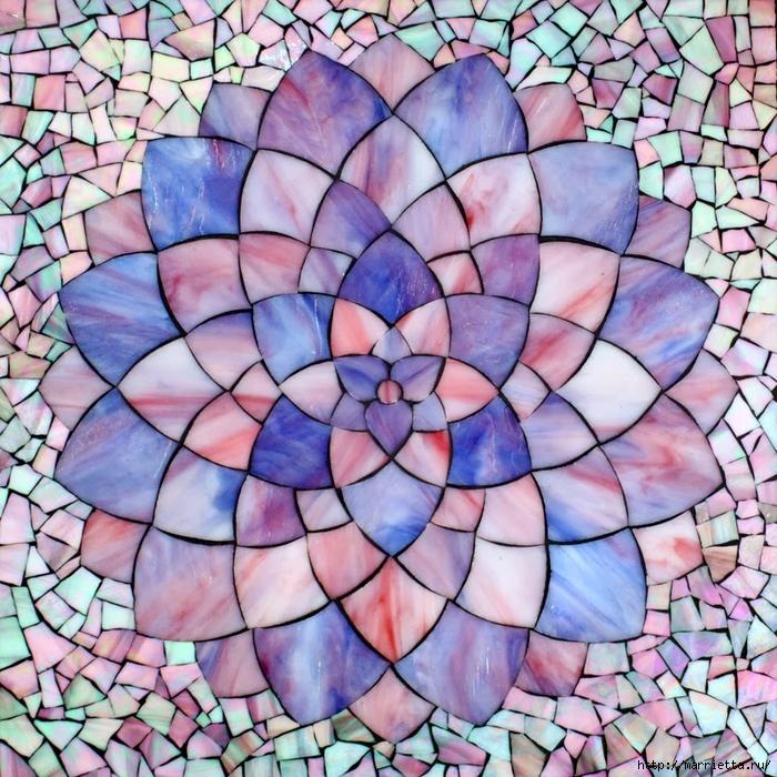 Мозаика на подносах. Мастер-класс и замечательные идеи (52) (700x700, 470Kb)