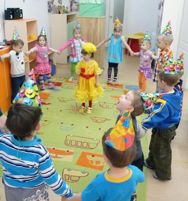 как отметить день рождения в детском саду, день рождения своими силами, сценарий дня рождения в детском саду,