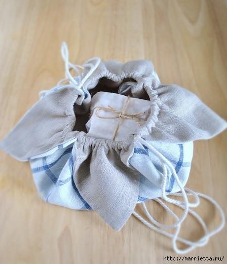 Bolsa de la materia textil por un rollo de papel higiénico.  Cosa ti mismo (1) (448x521, 128Kb)