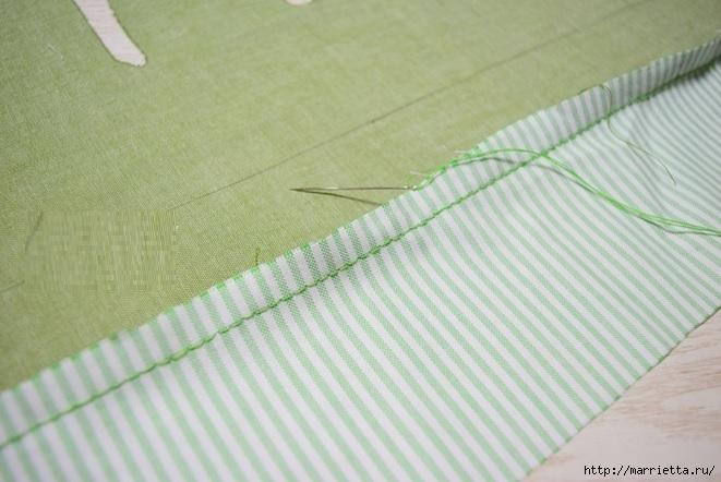 Bolsa de la materia textil por un rollo de papel higiénico.  Cosa ti mismo (8) (661x442, 169Kb)