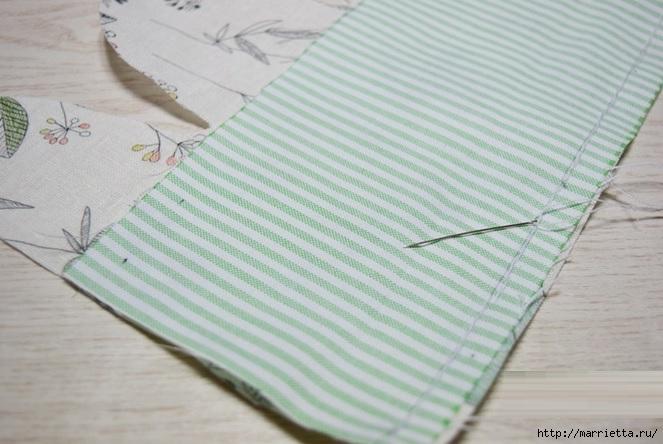Bolsa de la materia textil por un rollo de papel higiénico.  Cosa a sí mismos (10) (663x444, 174Kb)