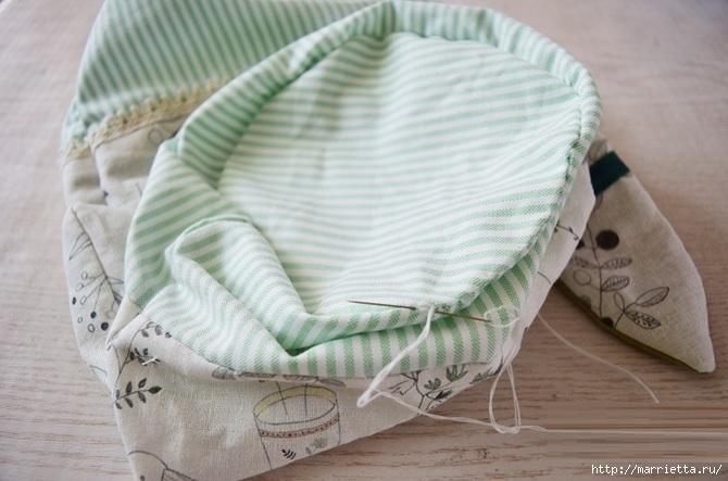 Bolsa de la materia textil por un rollo de papel higiénico.  Cosa a sí mismos (15) (670x443, 164Kb)