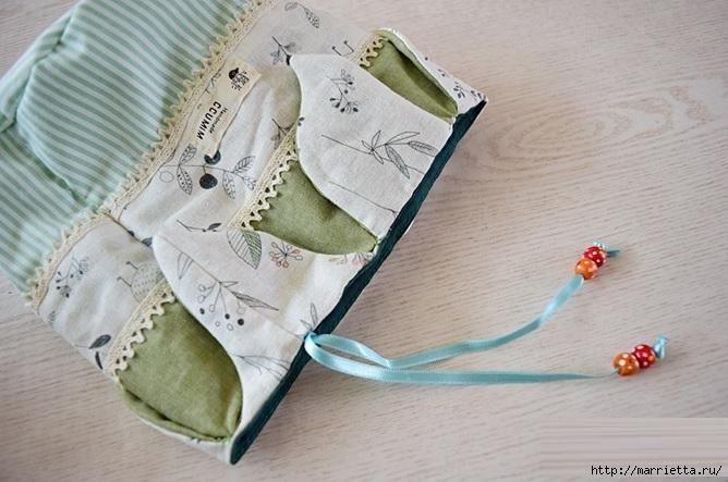 Bolsa de la materia textil por un rollo de papel higiénico.  Cosa a sí mismos (18) (668x443, 188Kb)