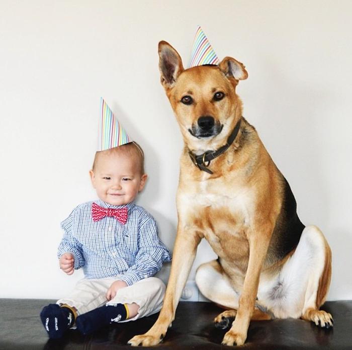 смешные фото детей и собак 15 (700x696, 346Kb)
