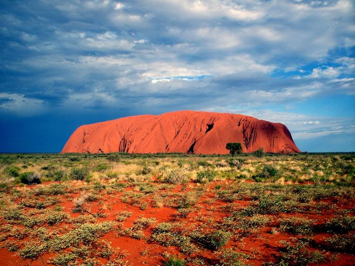 скала улуру австралия фото 5 (700x525, 539Kb)