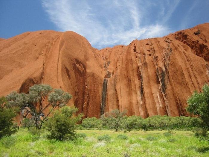 скала улуру австралия фото 9 (700x524, 377Kb)
