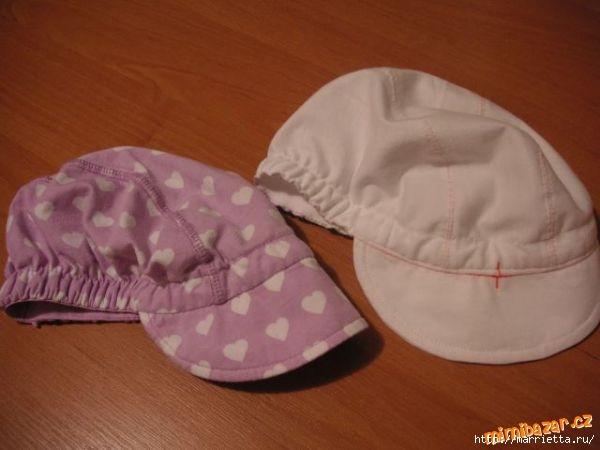 Как сшить летнюю кепку для мальчика (1) (600x450, 99Kb)