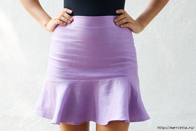 Переделка и пошив одежды. Юбка ГОДЕ  (5) (640x427, 150Kb)